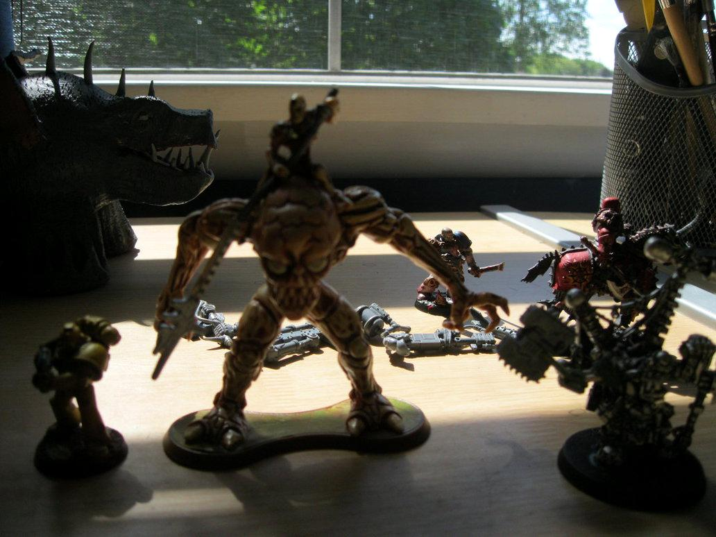 Warboss, ork conversion part one