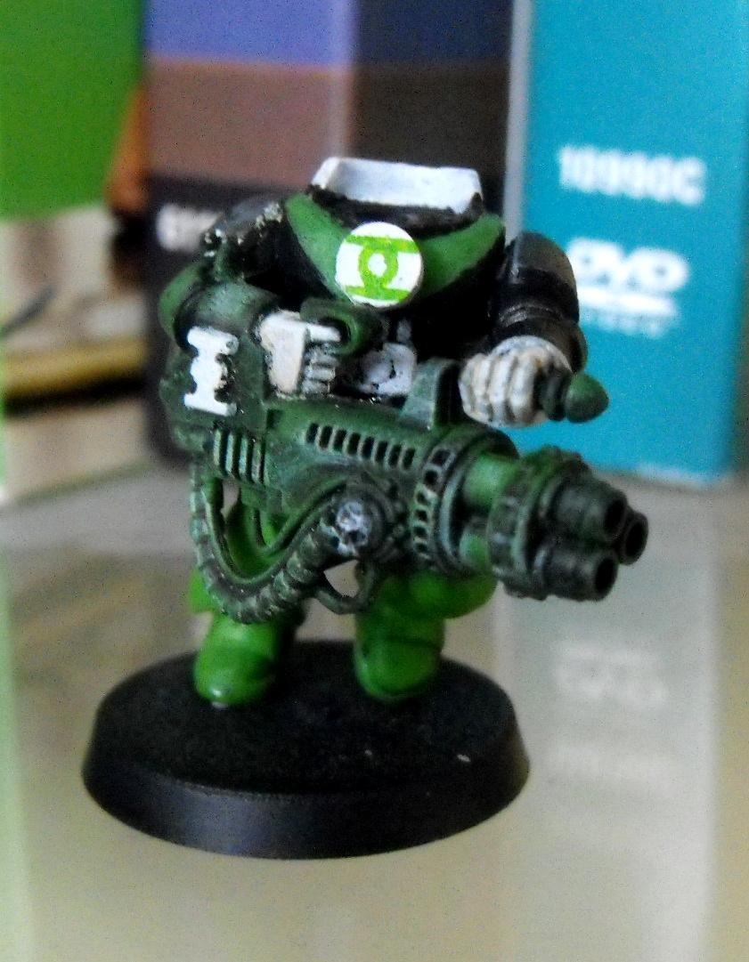 Green Lantern, Space Marines