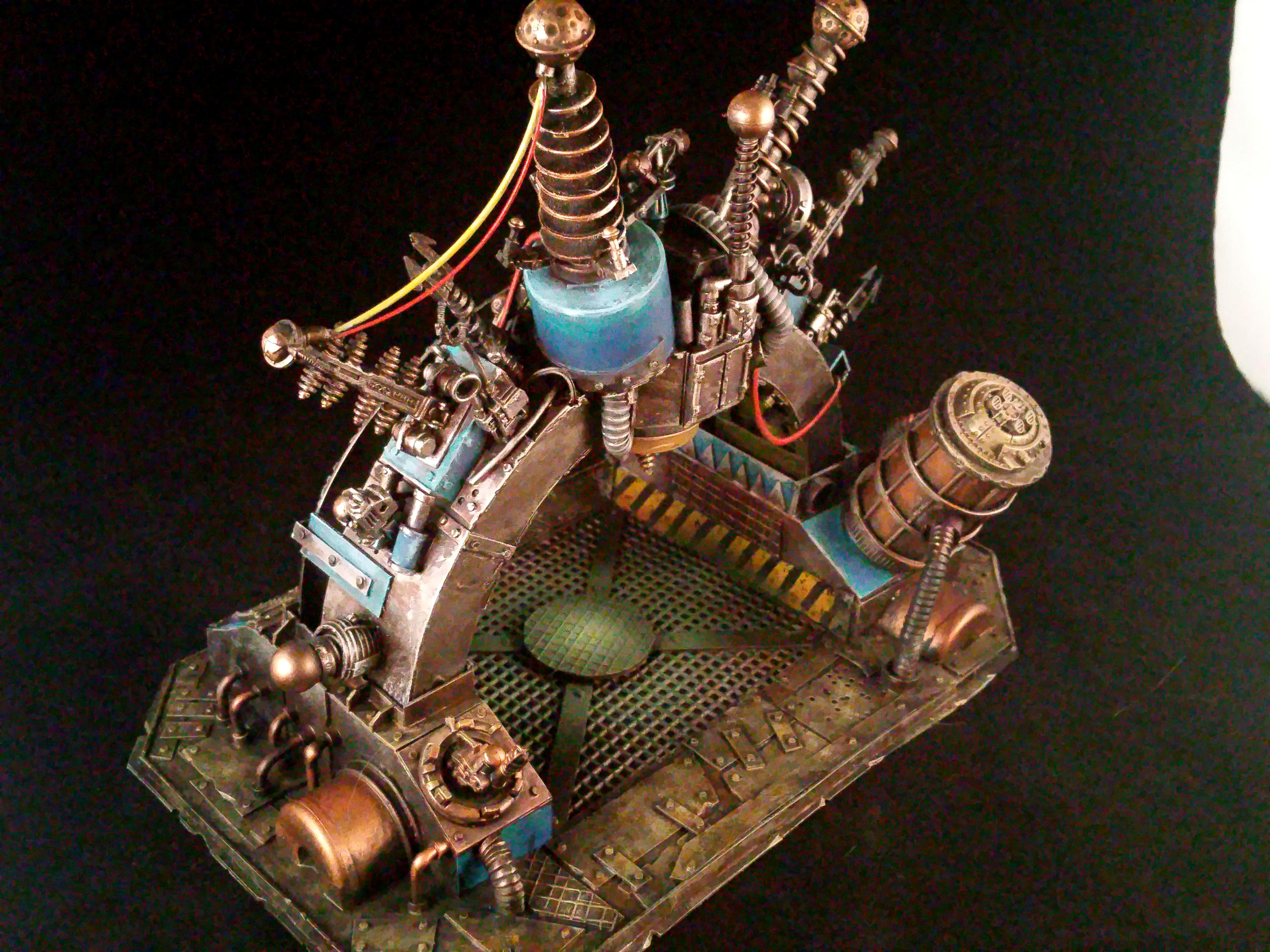Orcs, Piece, Tellyporta, Terrain, Warhammer 40,000