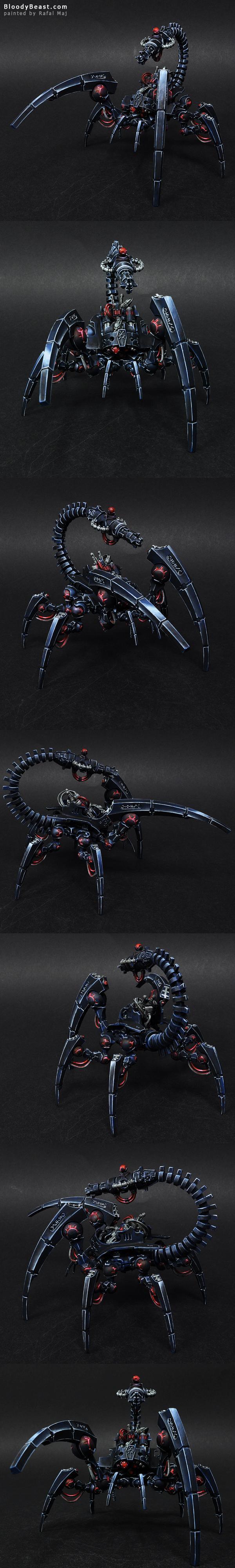 Necrons, Spider, Stalker, Tomb, Triach, Warhammer 40,000