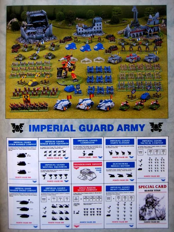 Epic, Imperial Guard, Reaver, Space Marines, Thunderhawk