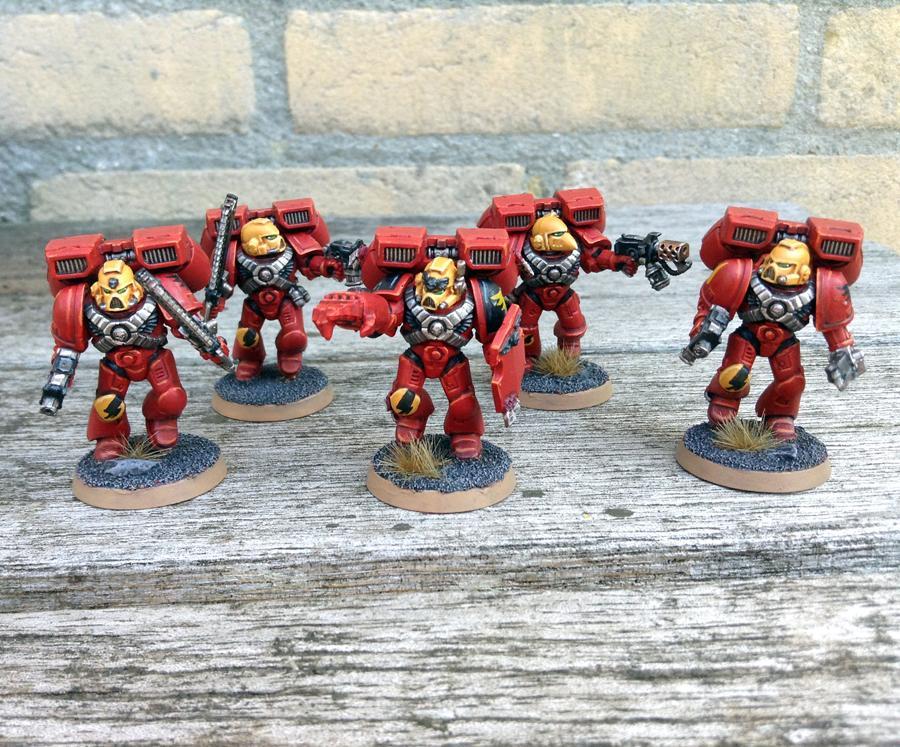 Assualt Squad, Blood Angels, Warhammer 40,000