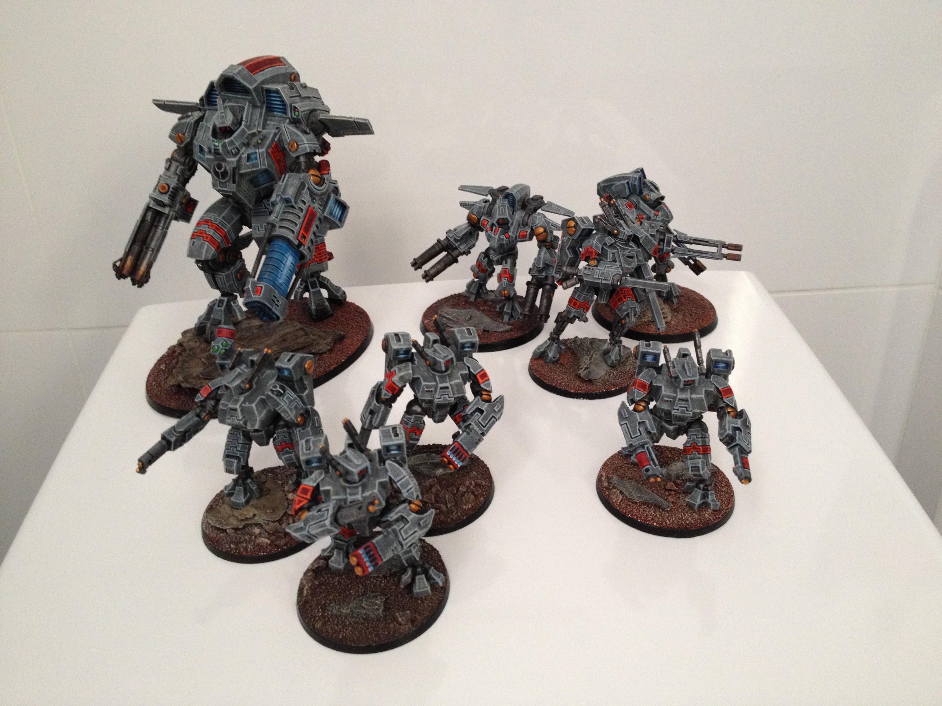 Crisis Battlesuit, Warhammer 40,000, Xv109, XV8, Y'vahra