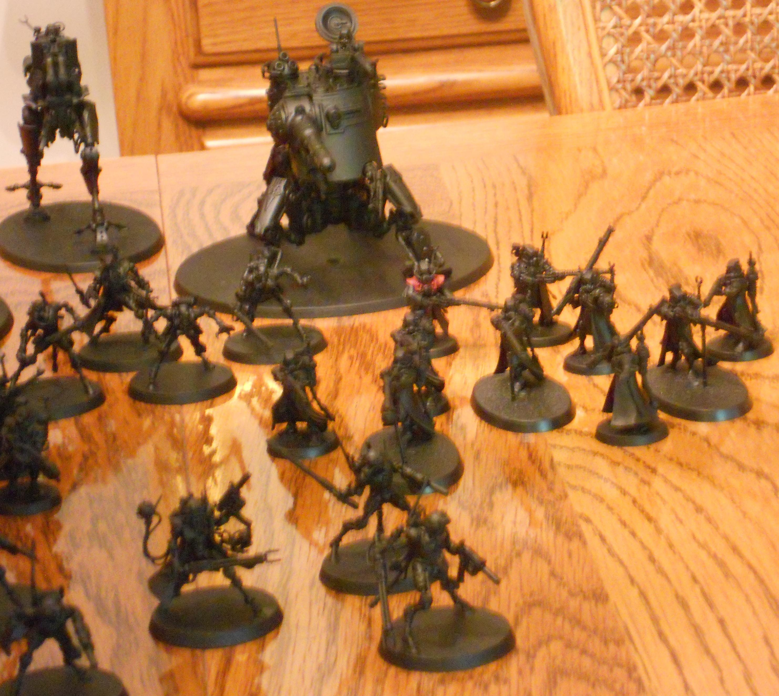 Infiltrators, Ruststalkers, Rangers, Onager, and Ironstrider