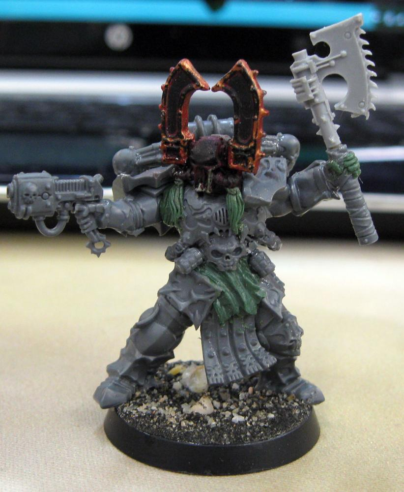 Betrayer, Chaos, Chaos Space Marines, Conversion, Kharn, Khorne, Khorne Kharn Chaos, Kitbash, Skullreaper, World Eaters, Wrathmonger