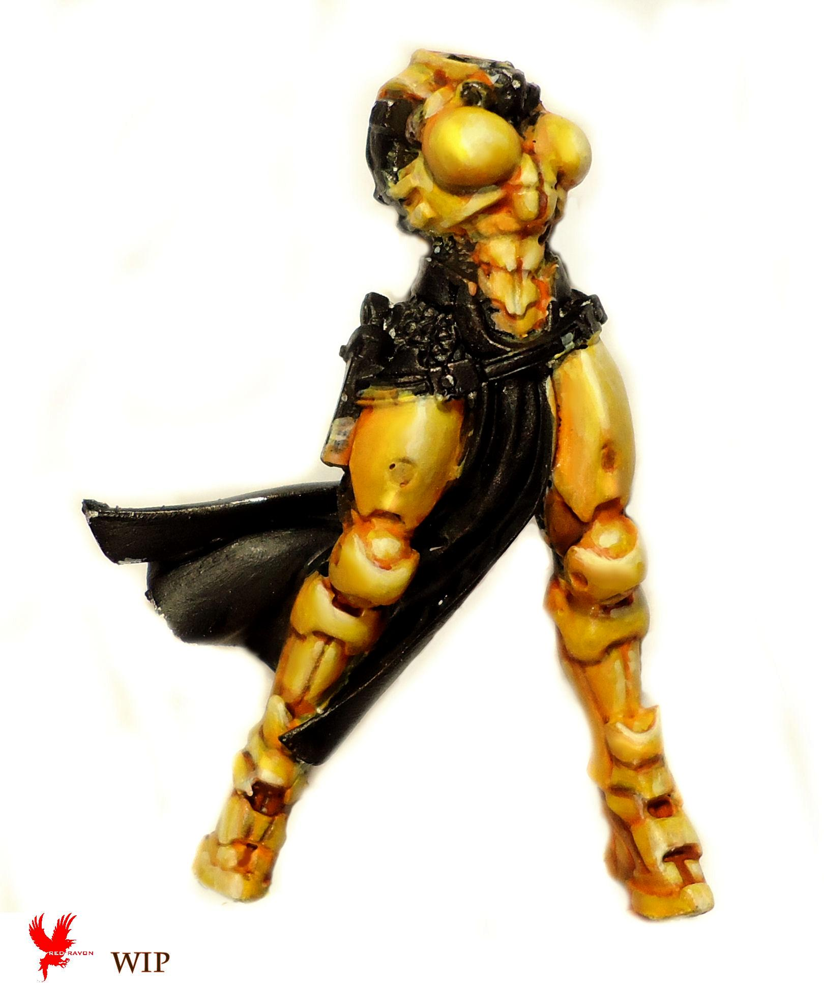 Infinity, Joan Of Ark, Yellow Armor