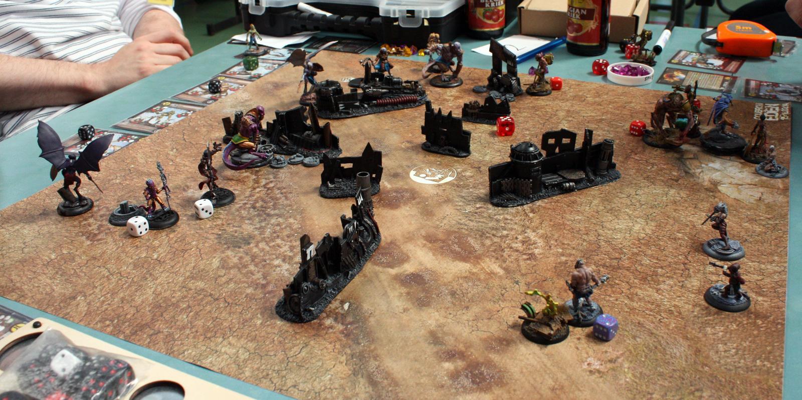 Angel, Askari, Dante, Eden, Isc, Joker, Nephilim, Post-apocalyptic, Resistance, Ruin, Skirmish, Tournament, Wreck