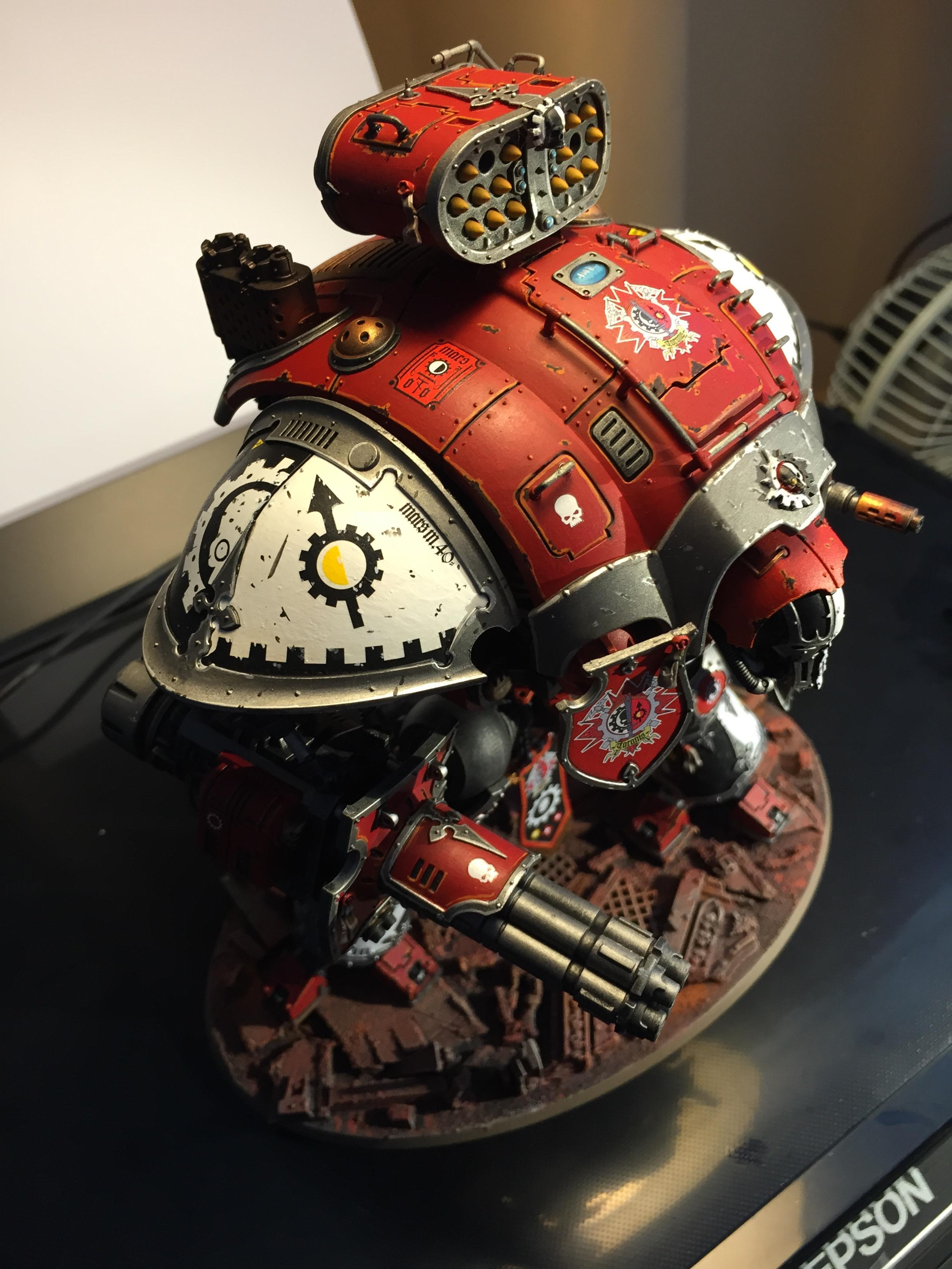 Adeptus Mechanicus, Imperial Knight, Mars, Taranis, Warden