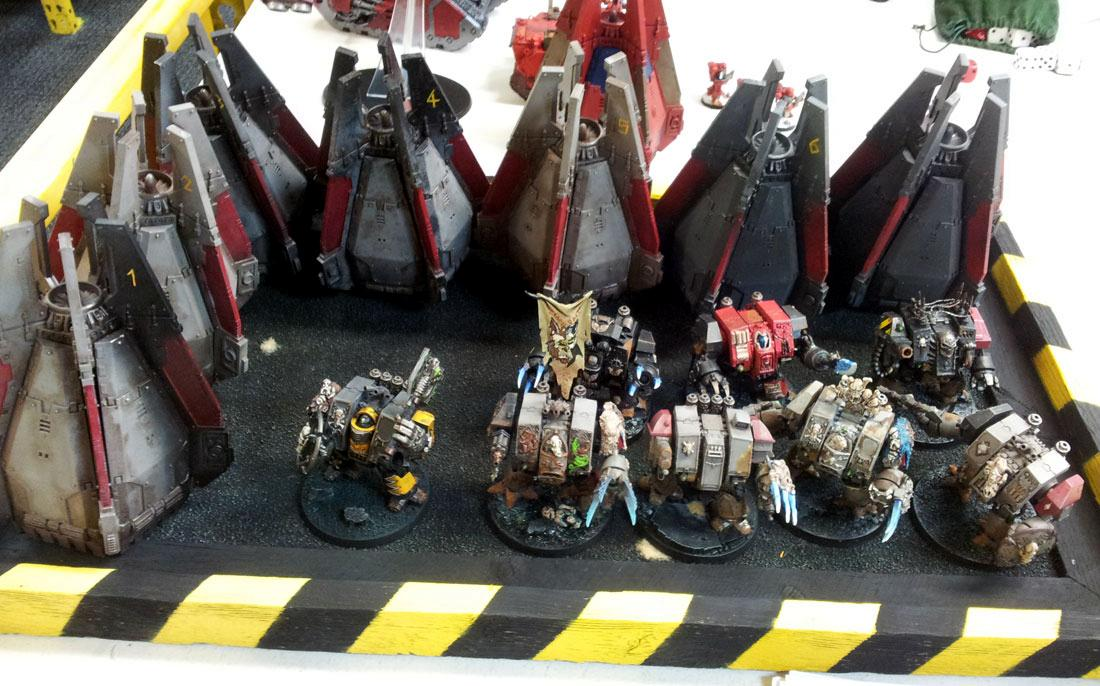 Champions of Fenris - Blood Angels - Dreadnought army