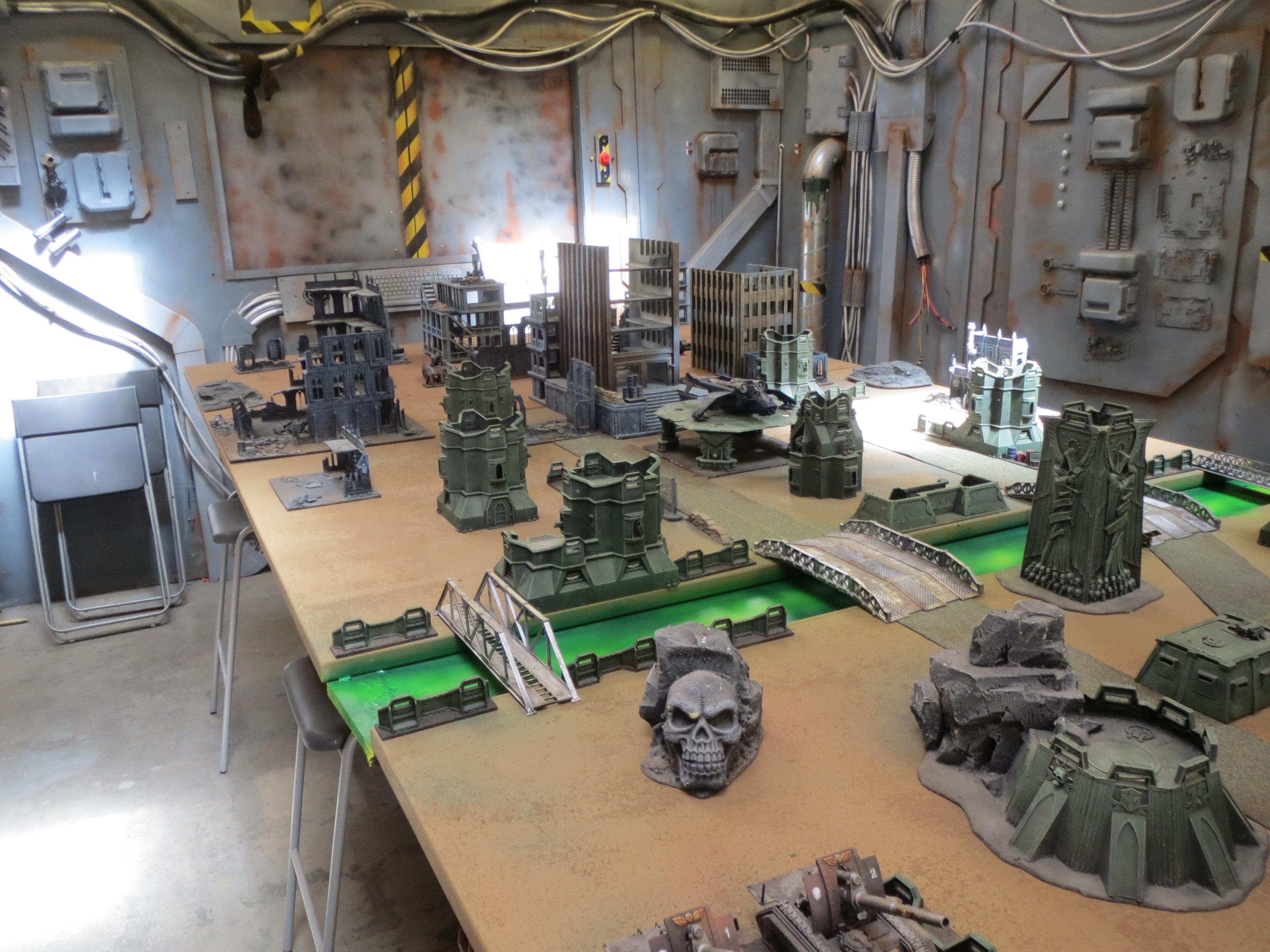 000. Apocalypse, Game Table, Terrain, Warhammer 40,000