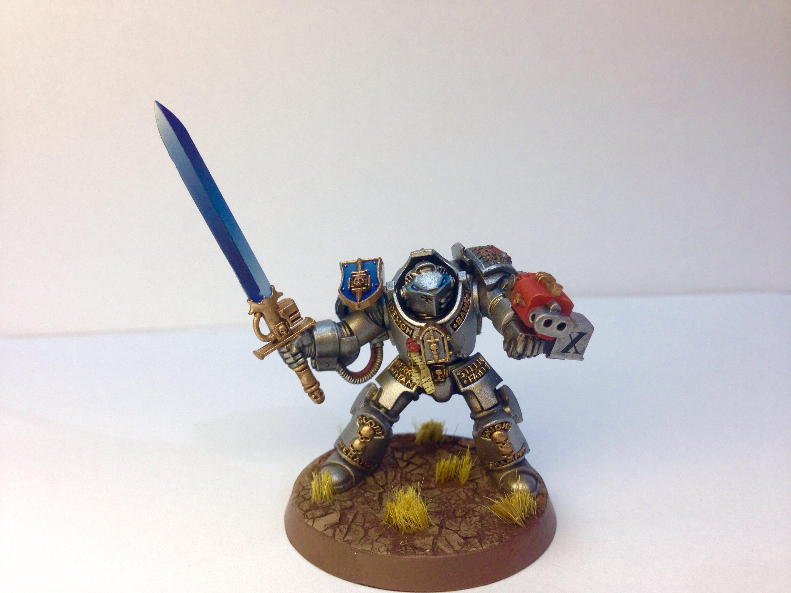 Adeptus Astartes, Force Weapon, Grass, Grey Knights, Horus Heresy, Inquisition, Non-Metallic Metal, Ordo Mallaeus, Power Armor, Space Marines, Terminator Armor, The Empire, Titan, Warhammer 40,000, Warhammer Fantasy