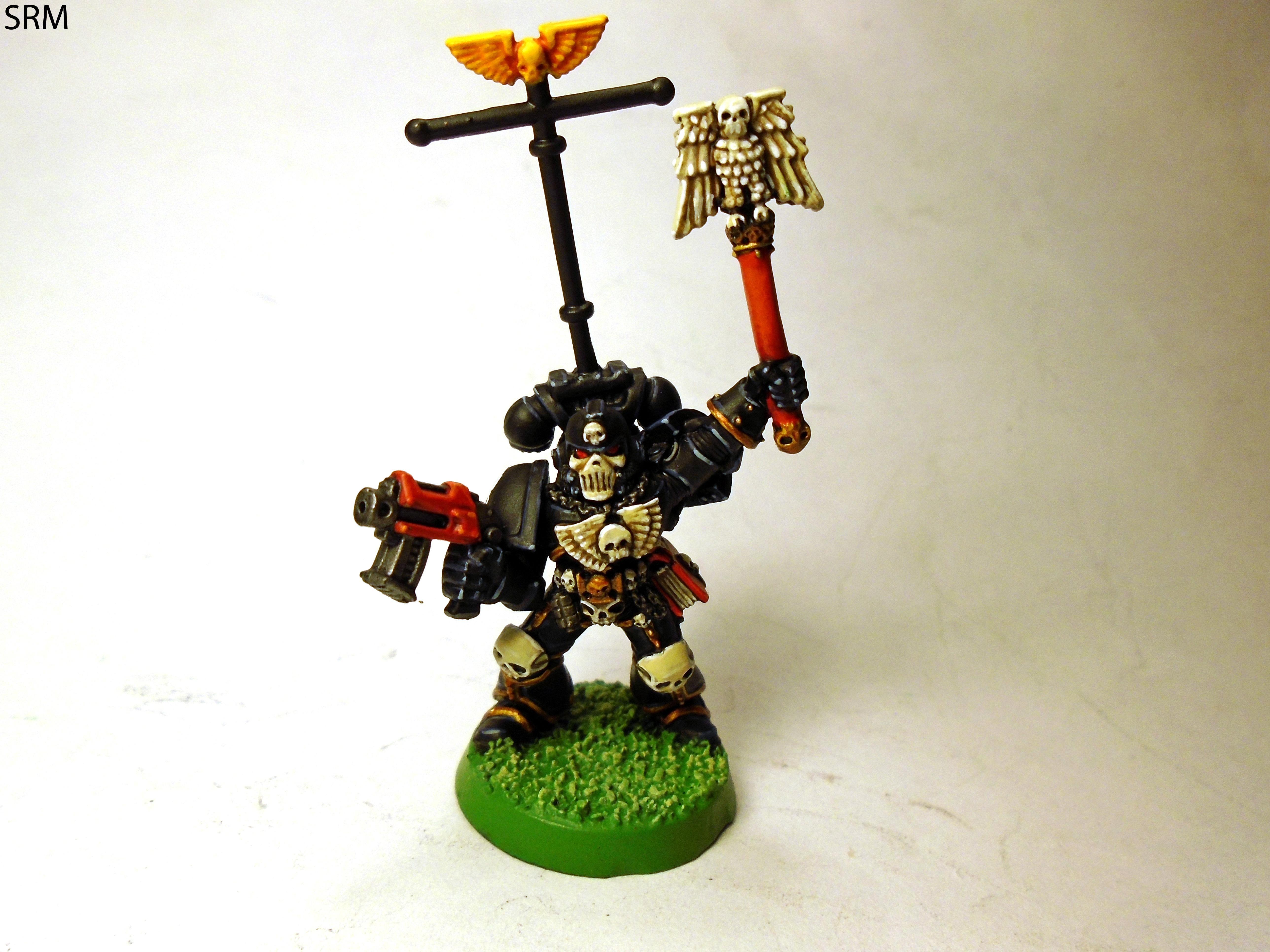 Chaplain, Infantry, Retro, Space Marines, Ultramarines, Warhammer 40,000