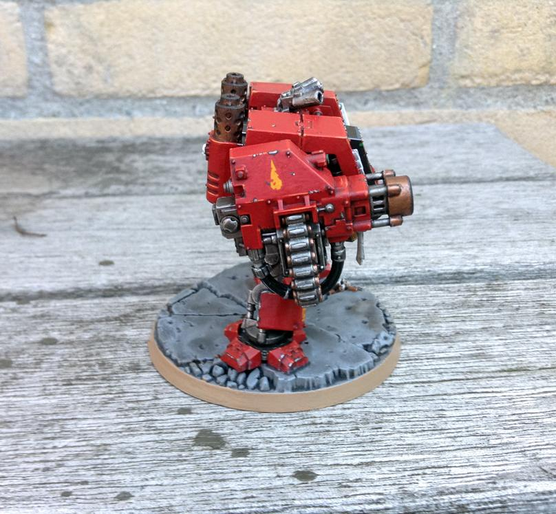 Blood Angels, Dreadnought, Furioso Dreadnought, Space Marines