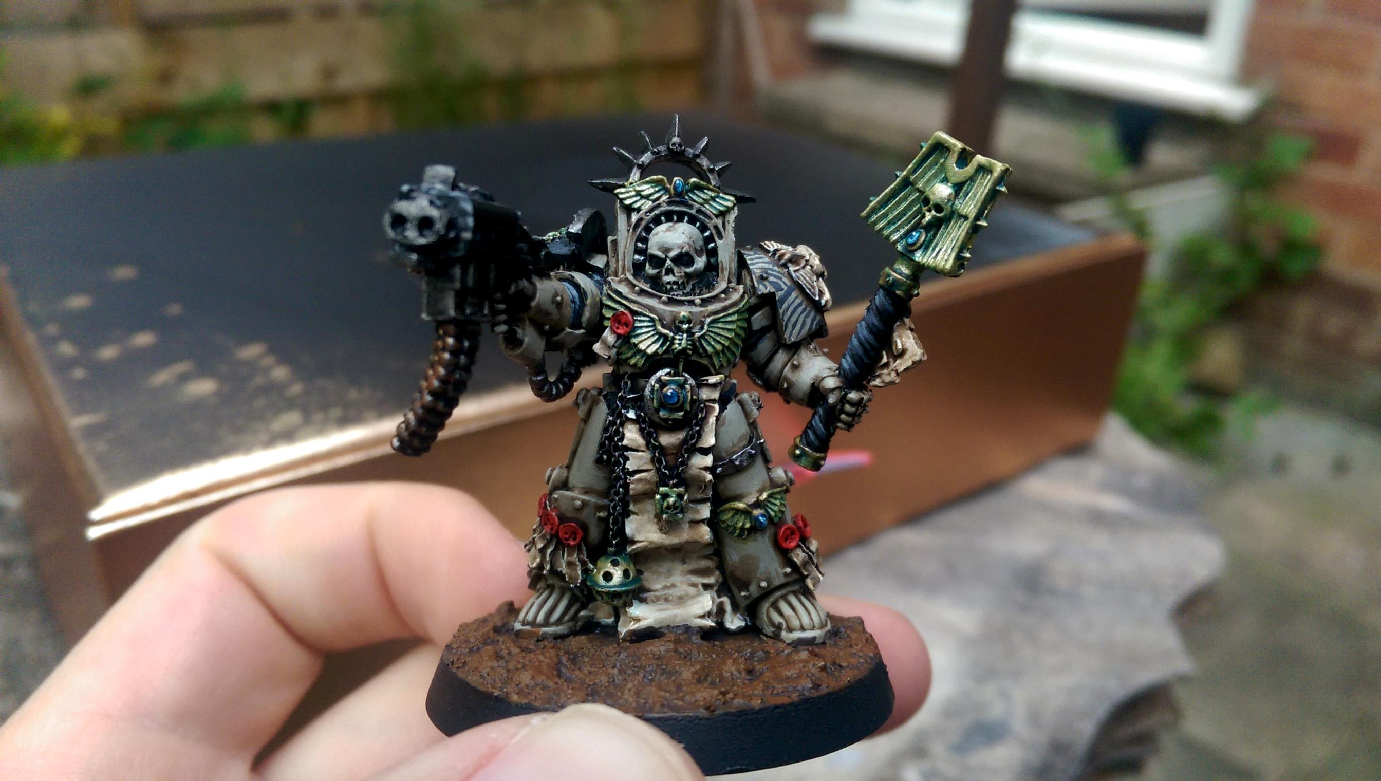 Carcharodons, Chaplain, Space Marines