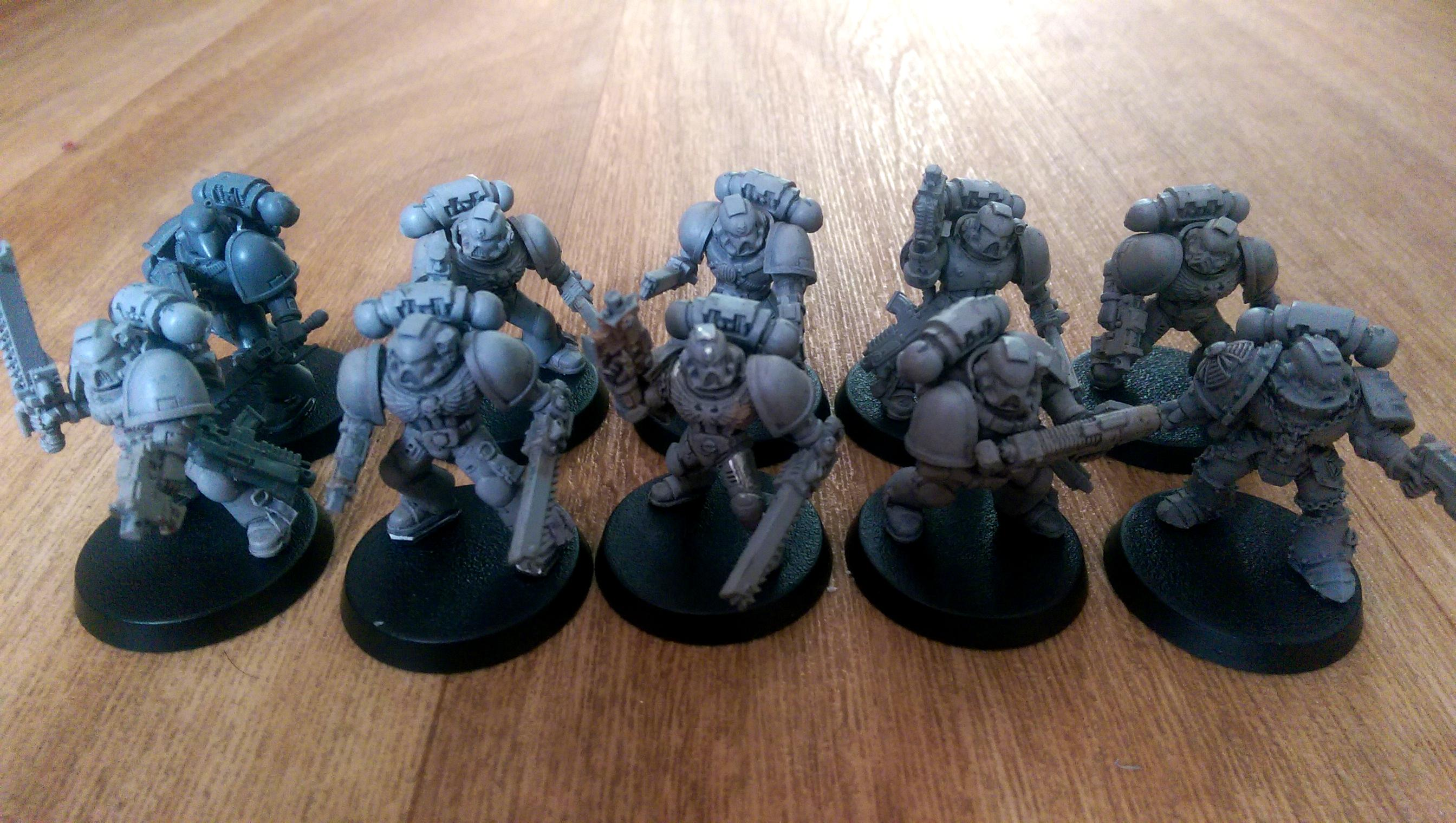 Carcharodons, Space Marines, Tactical Squad