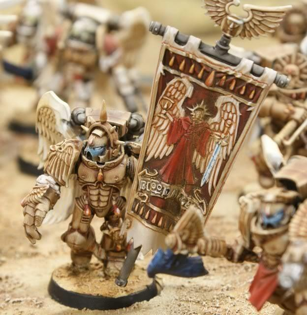 Blood Angels, Bone White, Sanguinary Guard