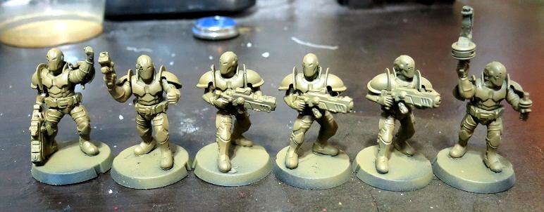 Karist, Karist Troopers, Maelstrom's Edge