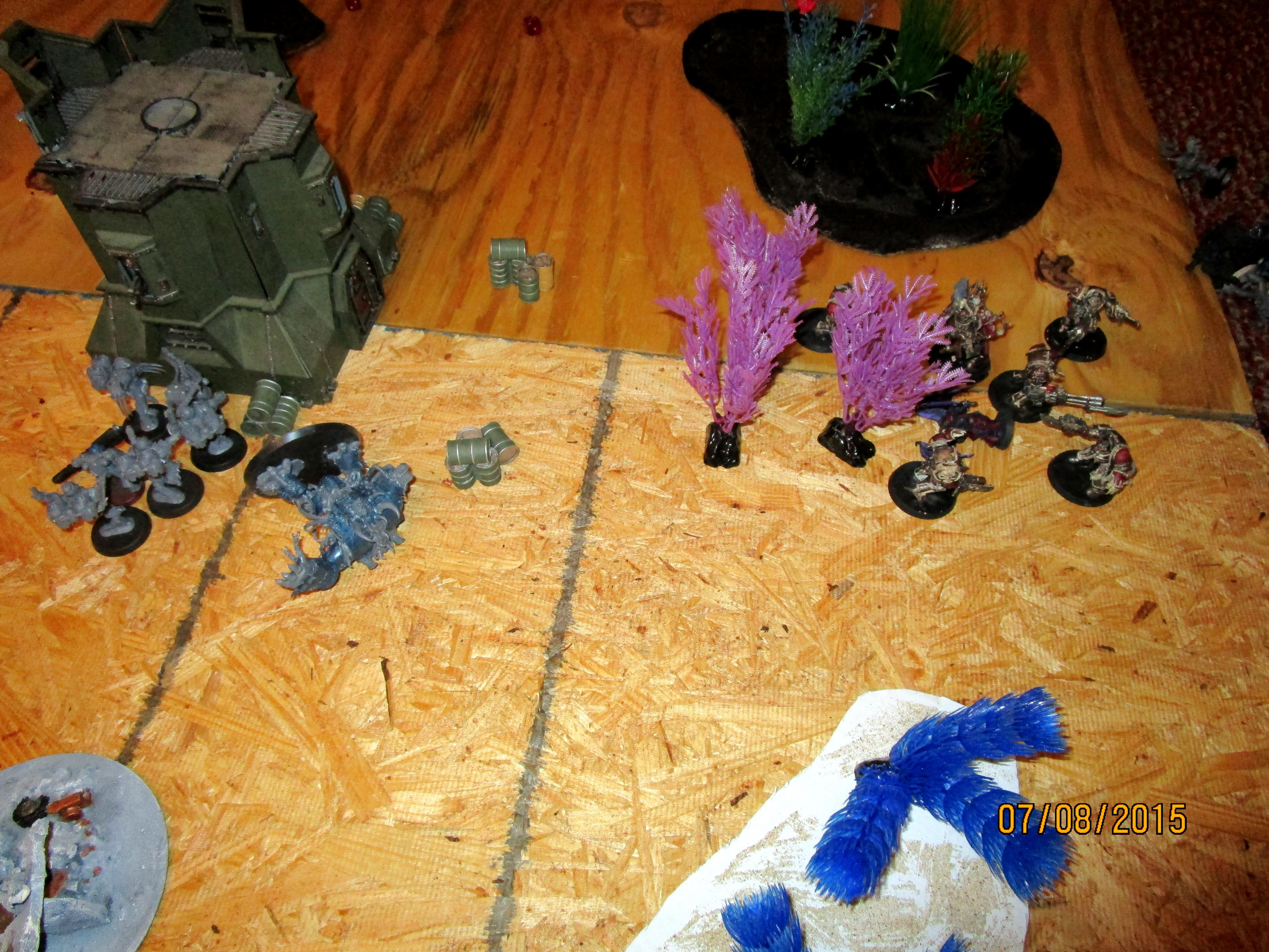 Terminators Destroy right flank