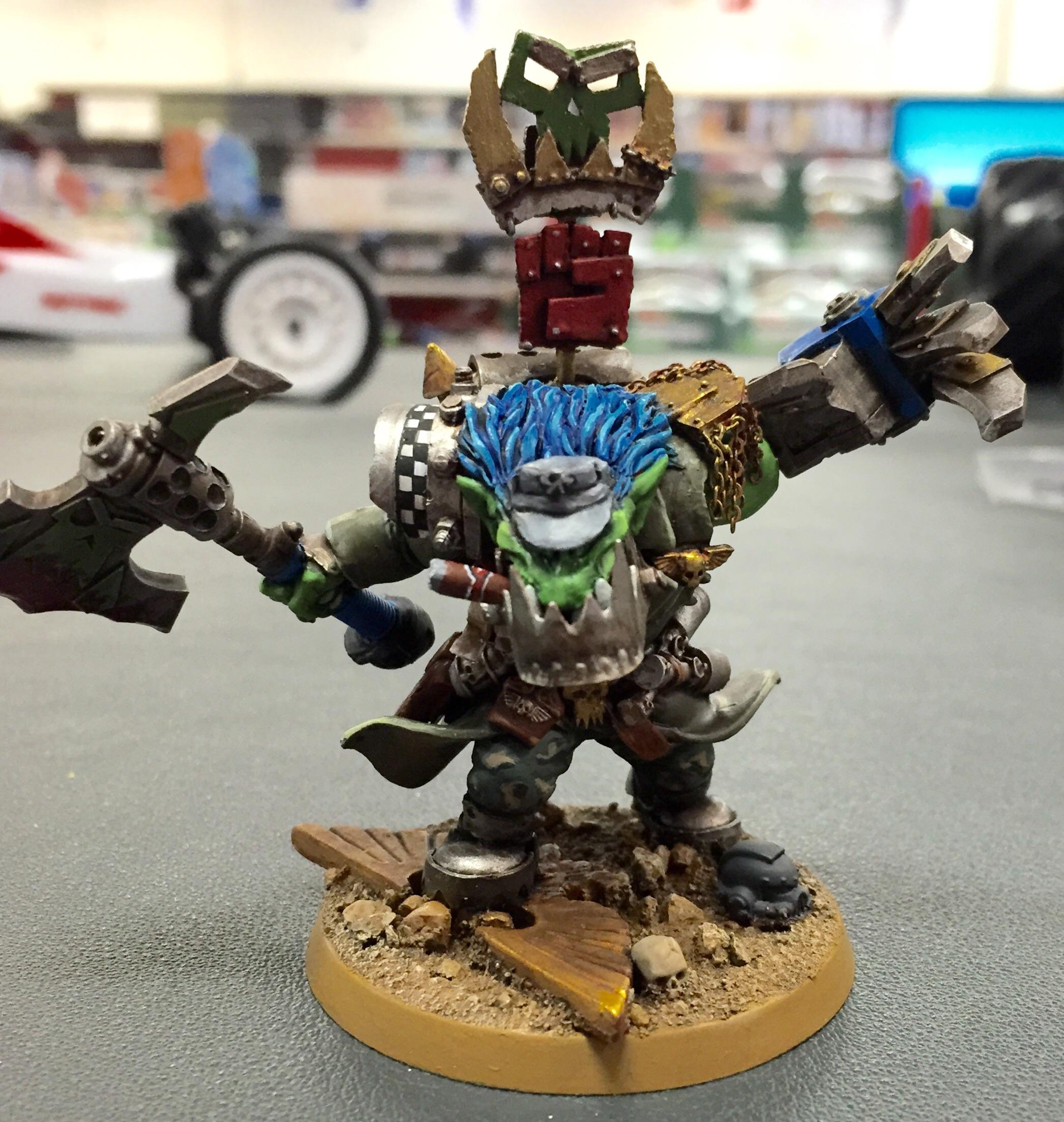 Blood Axe, Orks, Warboss