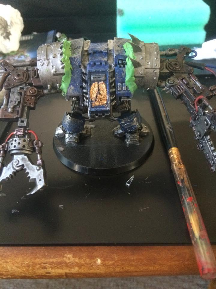 Deff Dread, Dreadnought, Looted, Marine Abuse, Orks