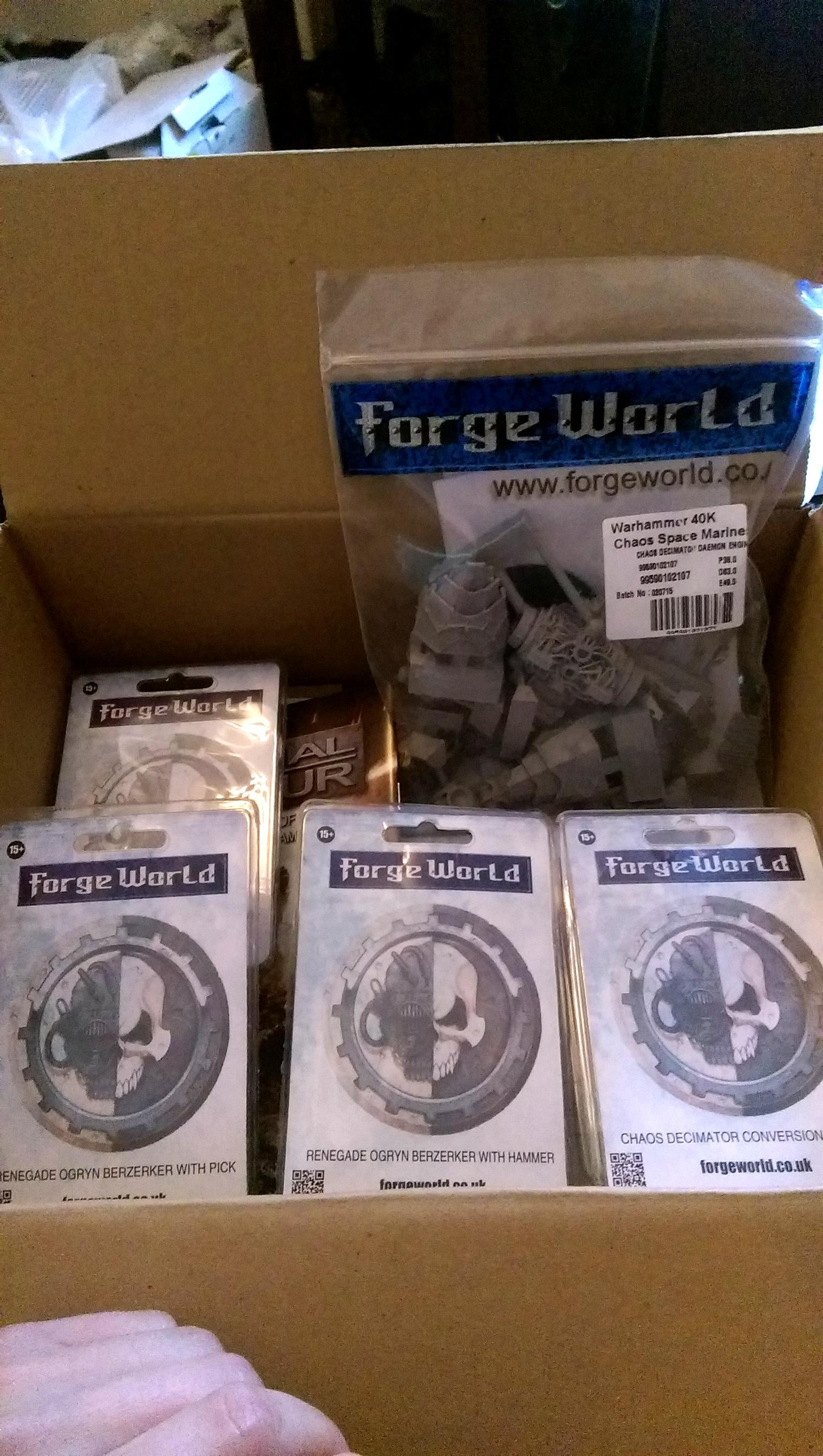 Forgeworld Delivery!!