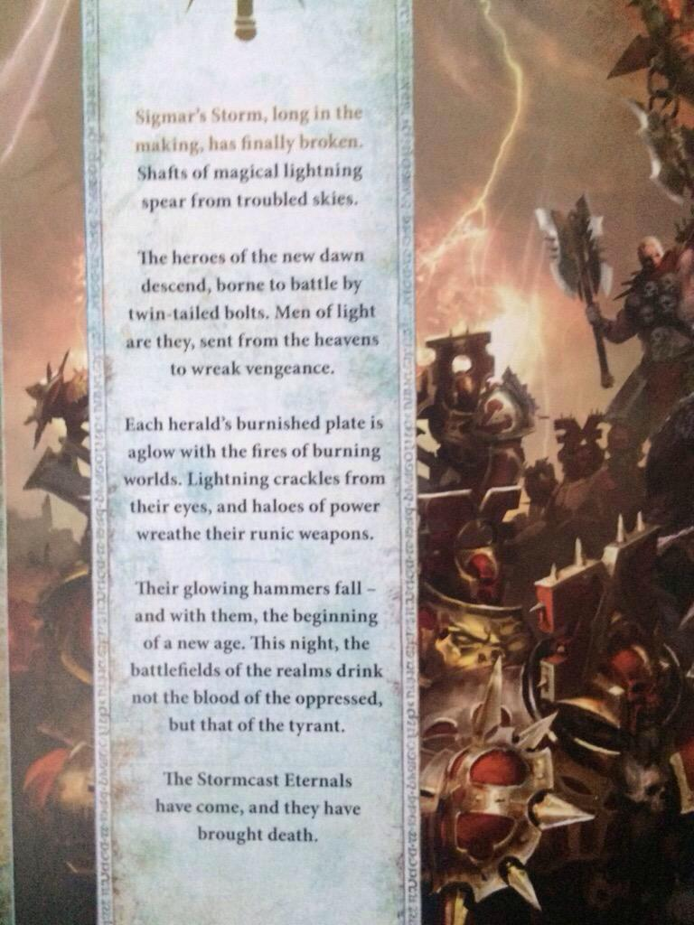 Age Of Sigmar, Copyright Games Workshop