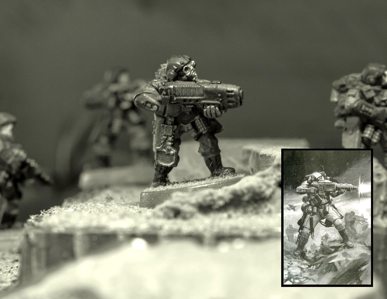 Astra Militarum, Diorama, Imperial Guard, Scions, Storm Troopers