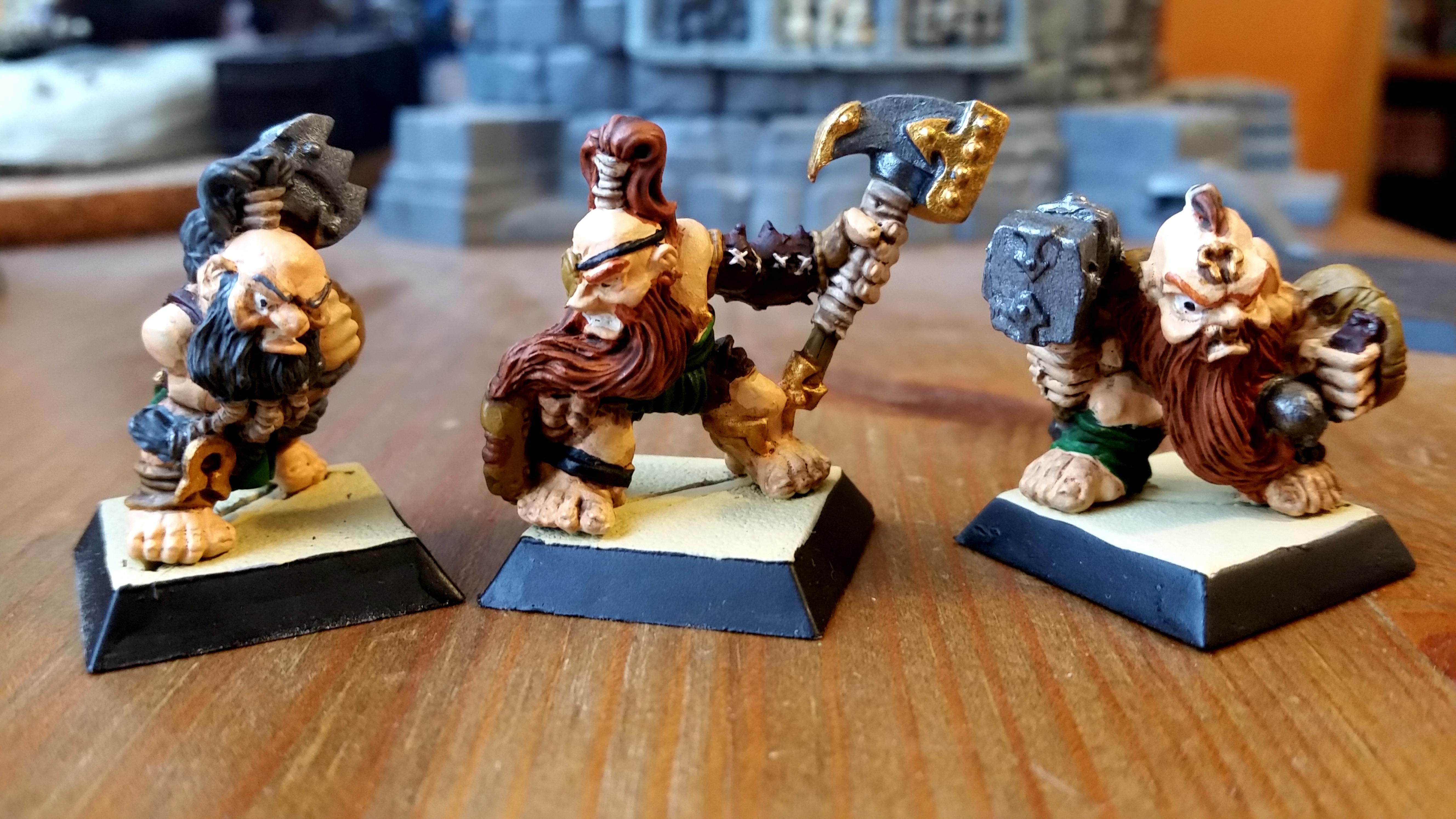 Confrontation, Dwarves, Rackham
