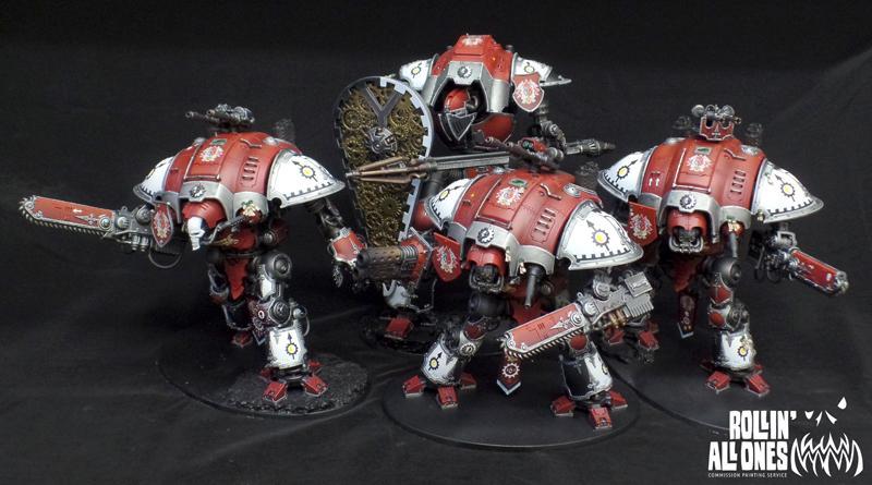 Imperial Knights, Mars, Ramos Asura, Warhammer 40,000