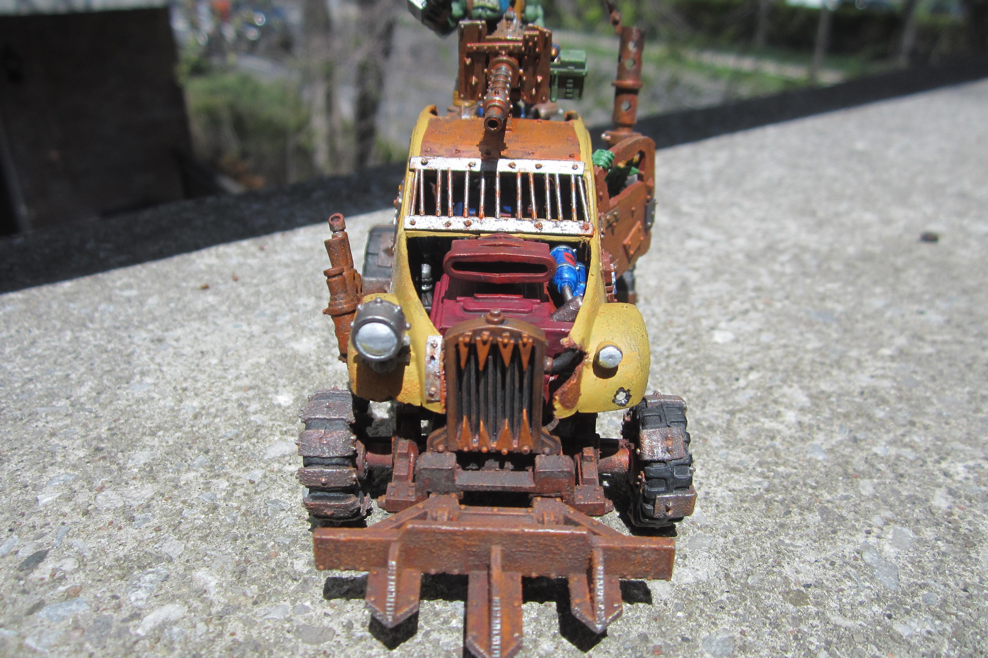 Conversion, Gorkamorka, Ork Buggies, Ork Buggy, Orks, Warhammer 40,000