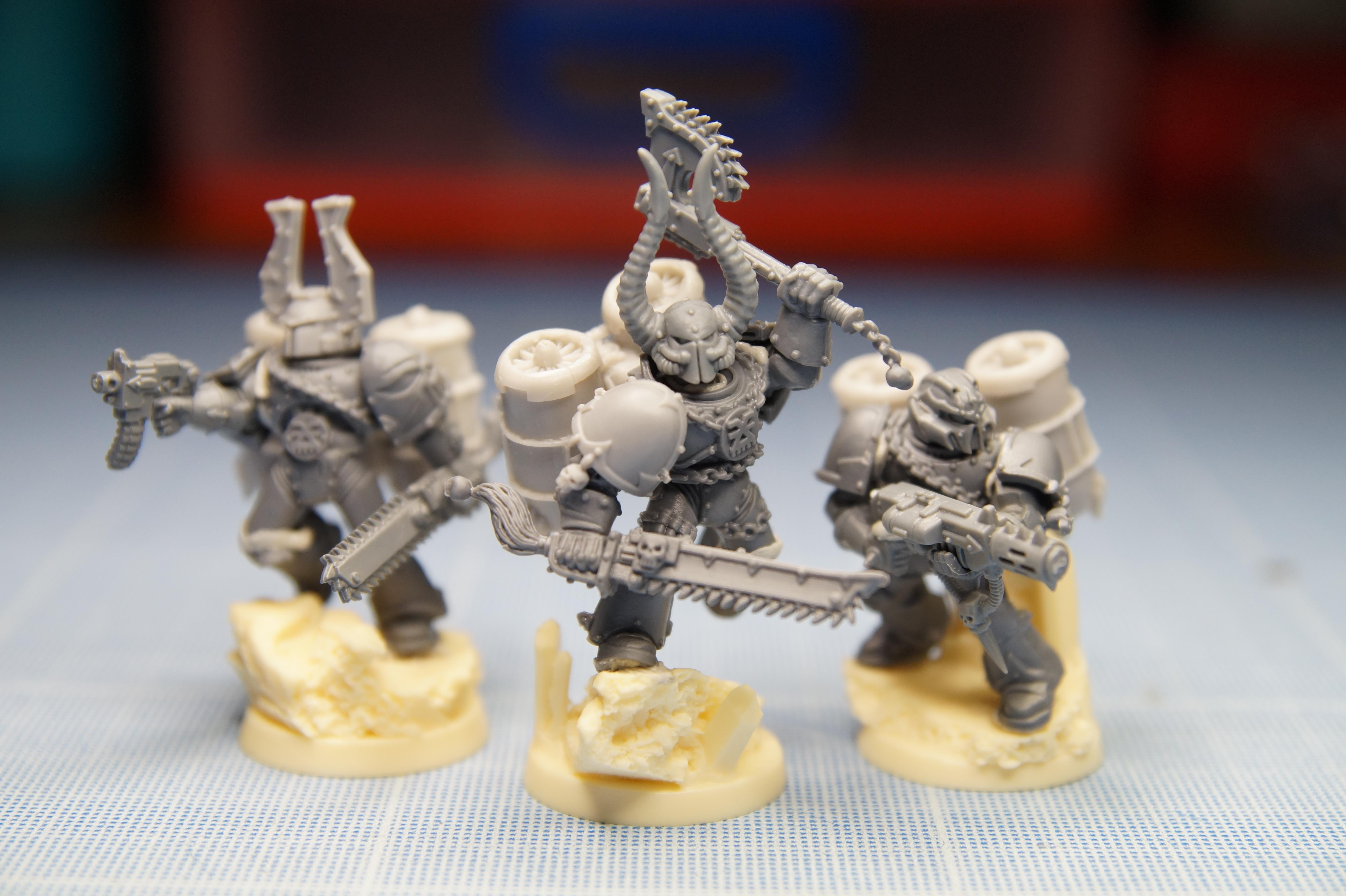 Chaos, Chaos Space Marines, Raptors, Thousand Sons