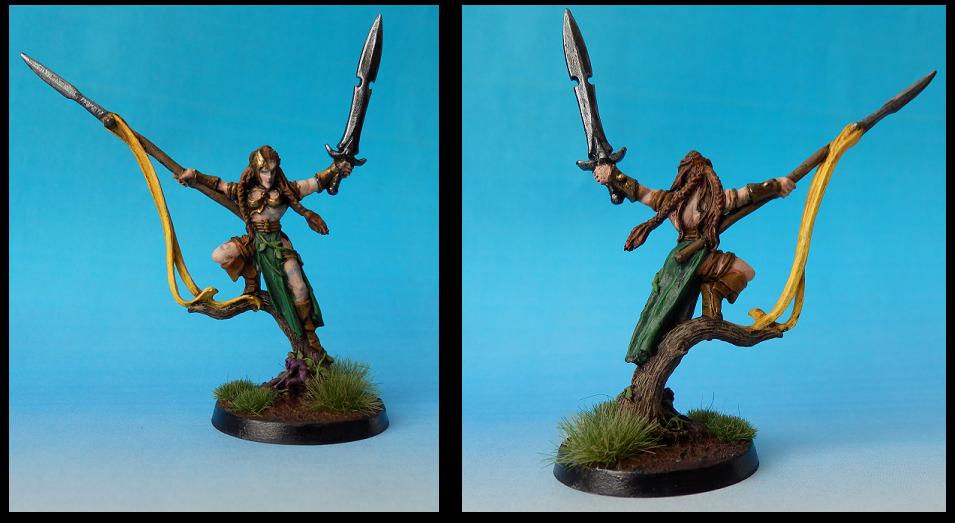 Elven Prince, Kow, Wardancer