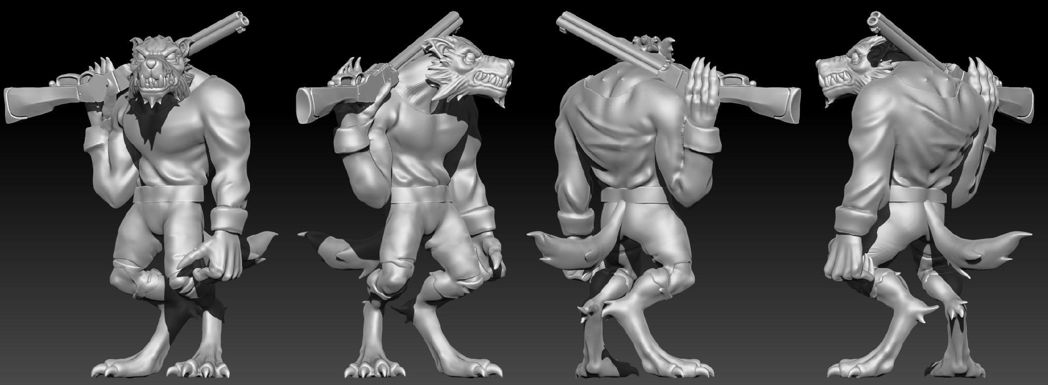 Werewolf Ranger 1