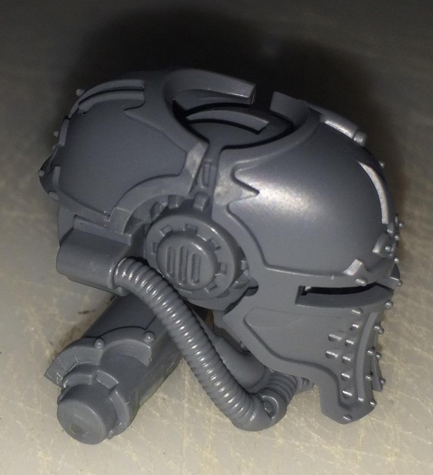 Making a full helmet