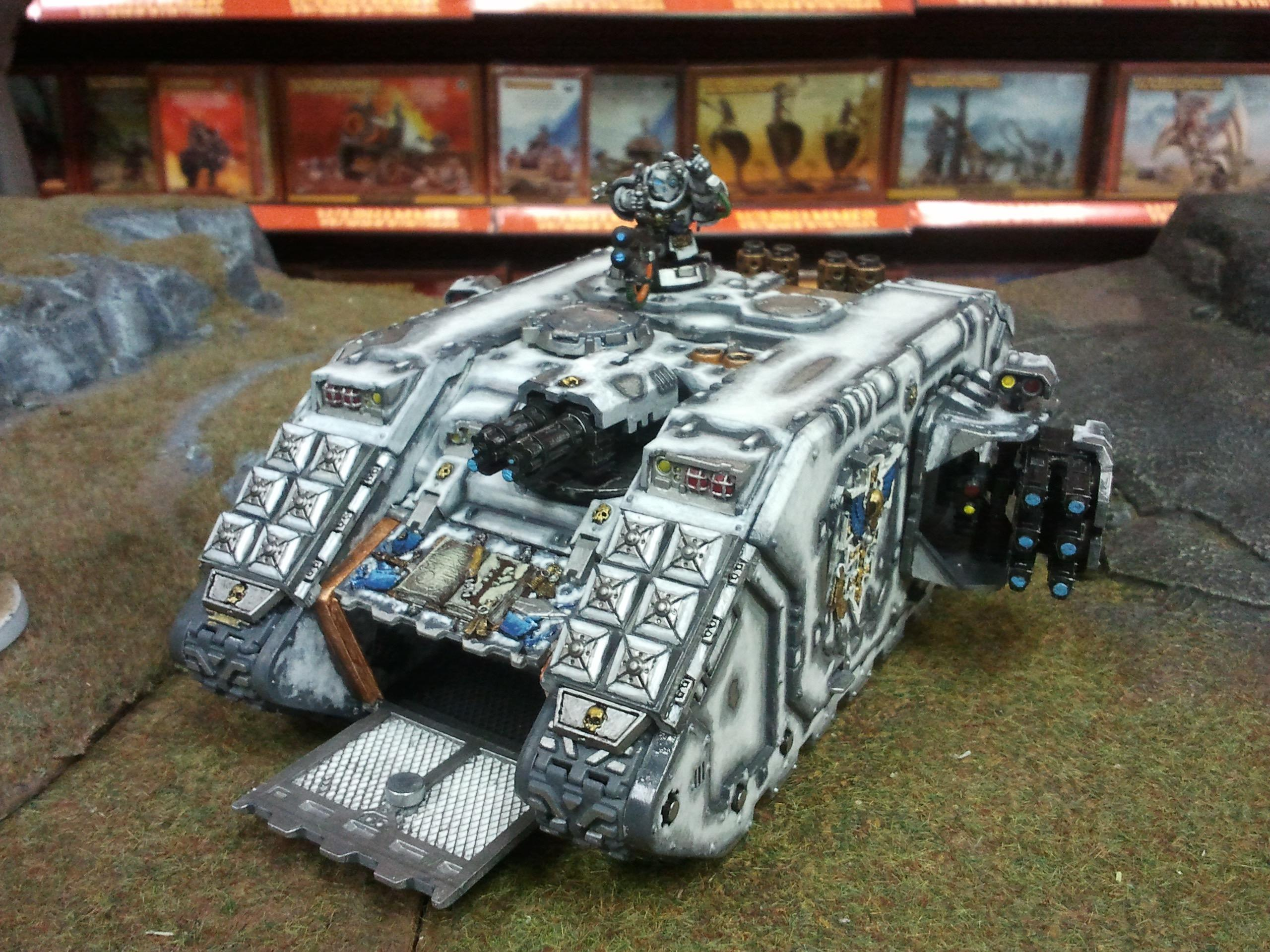 Carrier, Grey Knights, Land Raider, Space Marines, Tank, Troops, Vehicle