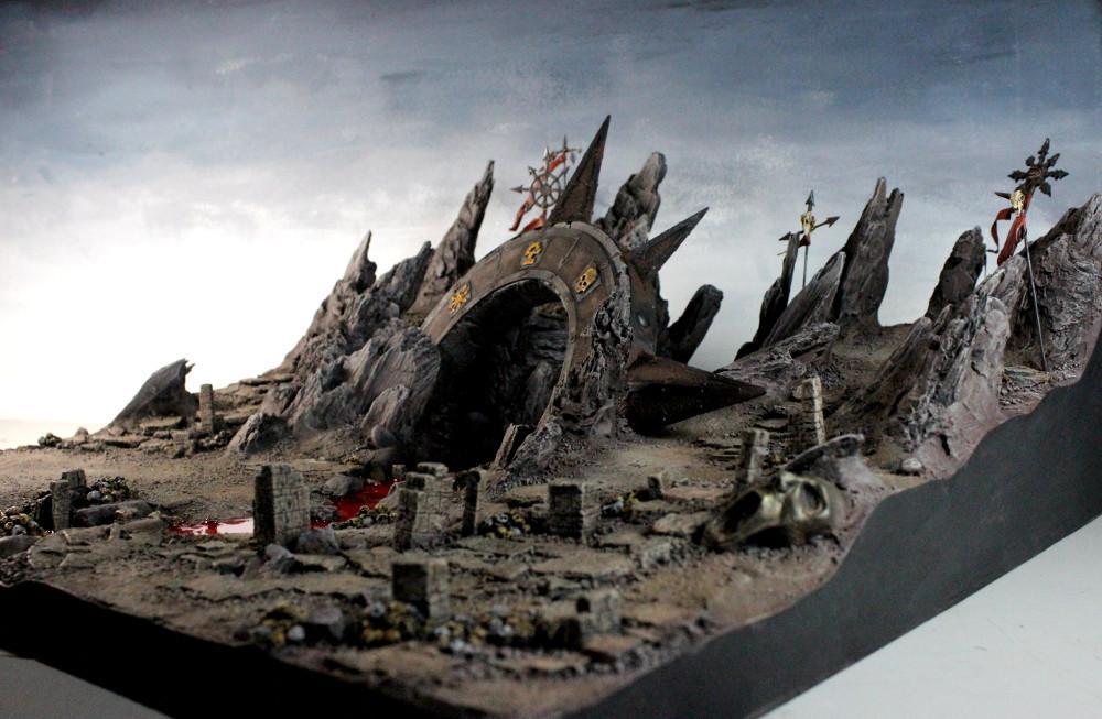 3t, Blood, Board, Chaos, Display, Terrain