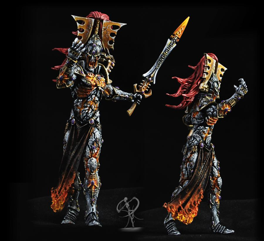 Avatar, Construct, Daemons, Eldar, Flames, Forge World, Golem, Monstrous, Non-Metallic Metal, Sword