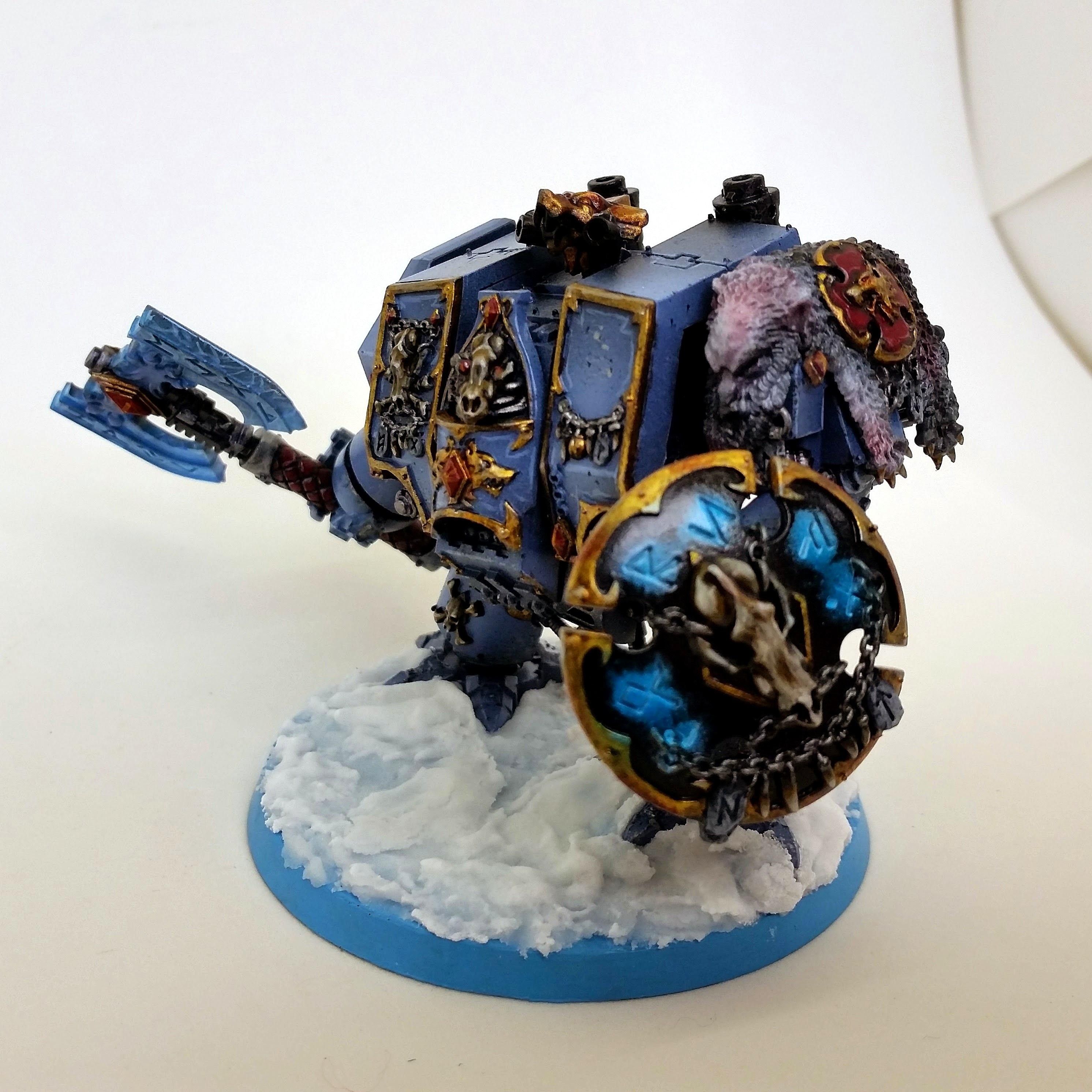 Commission, Commissions, Dreadnought, Space Wolves