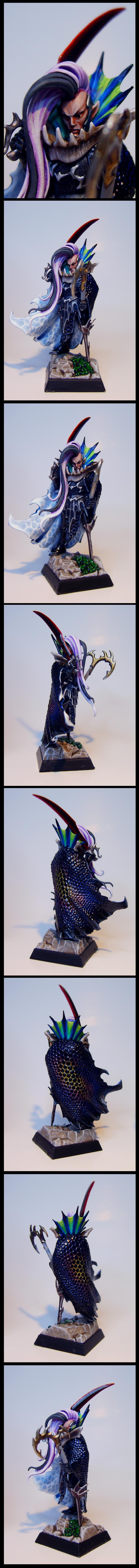 Black, Colour, Dark Elves, Dragon Cape, Eldar, Fleet Master, Pirate, Rainbow