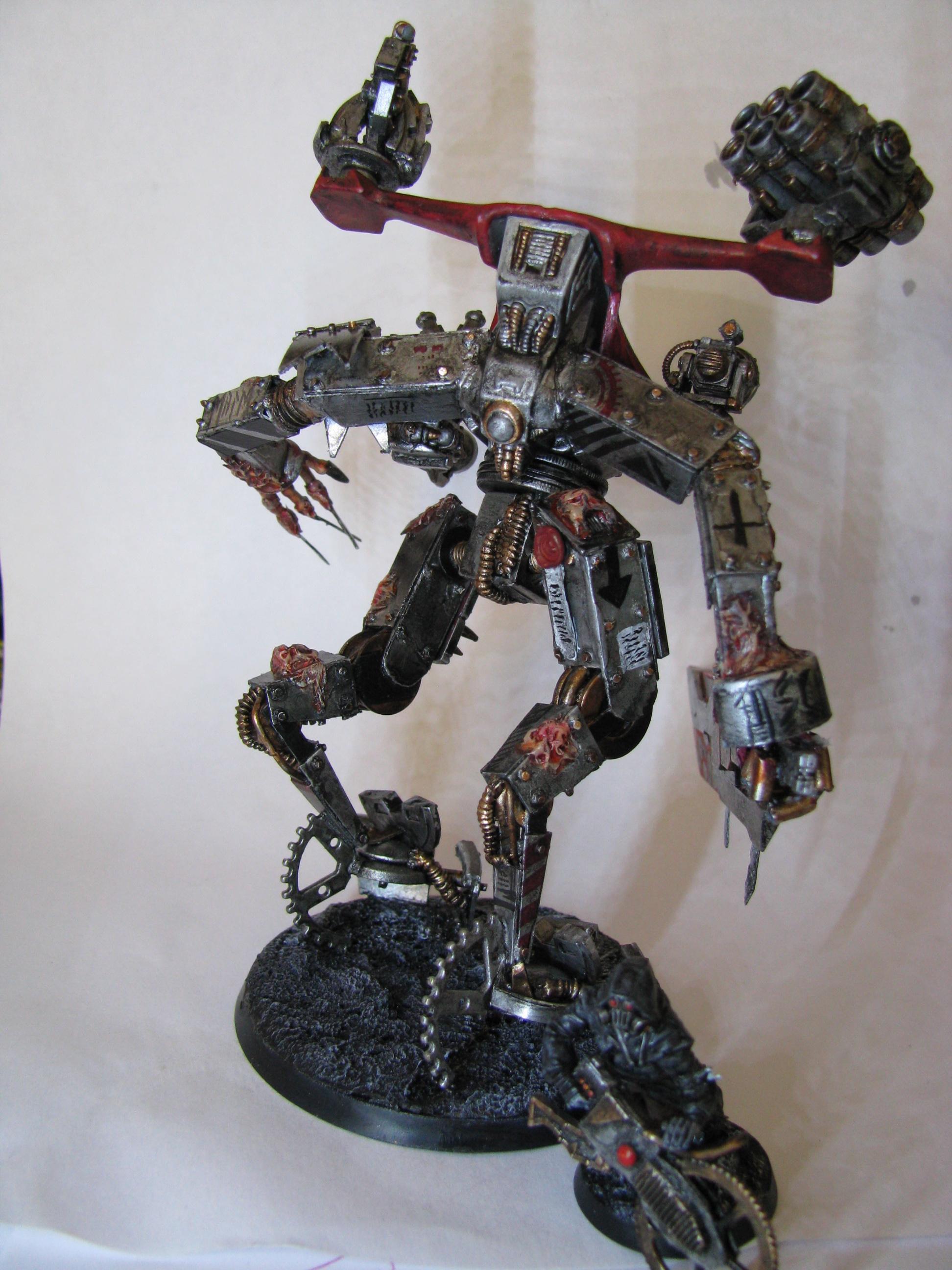 Chaos, Conversion, Dark Mechanicus, Dreadnought, Hellbrute, Space Crusade