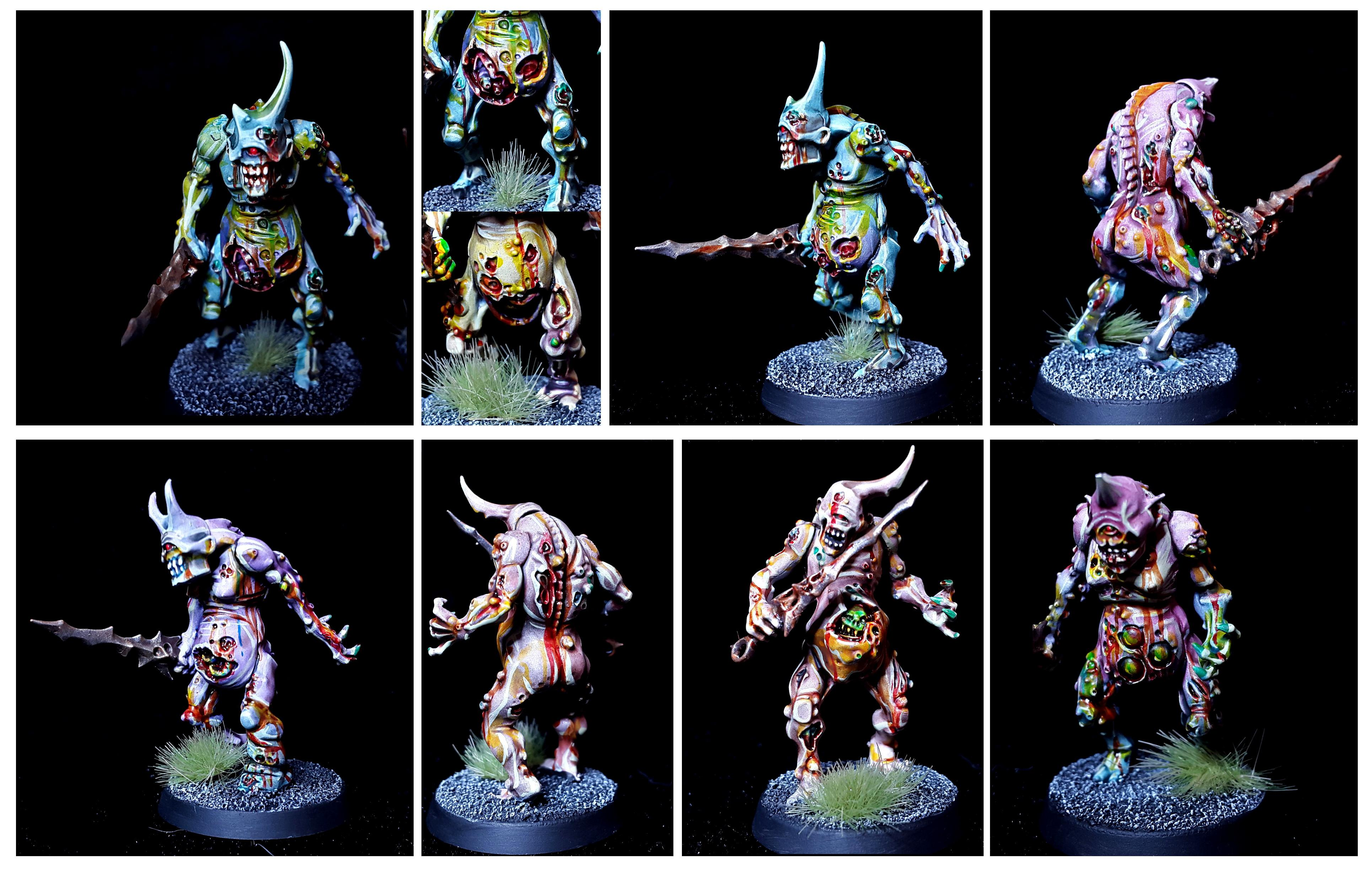Bearer, Colour, Daemons, Nurgle, Plage, Plaguebearers, Rot, Sigmar, Warhammer 40,000, Warhammer Fantasy, Zombie