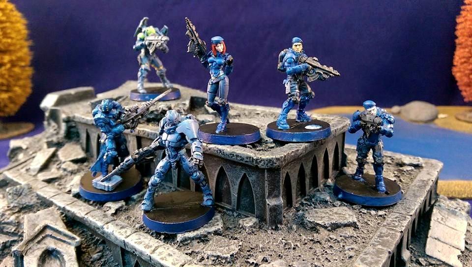 Akal Trooper, Fusilier, Infinity, Nisse, Orc Trooper, Pano, Panoceania