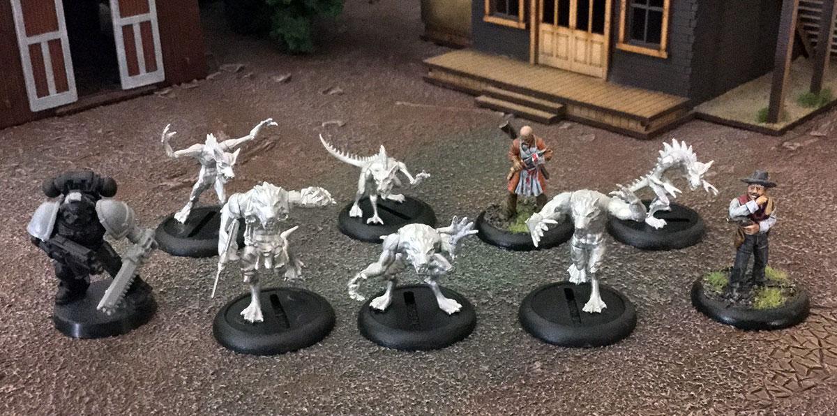 Wolf minis 1