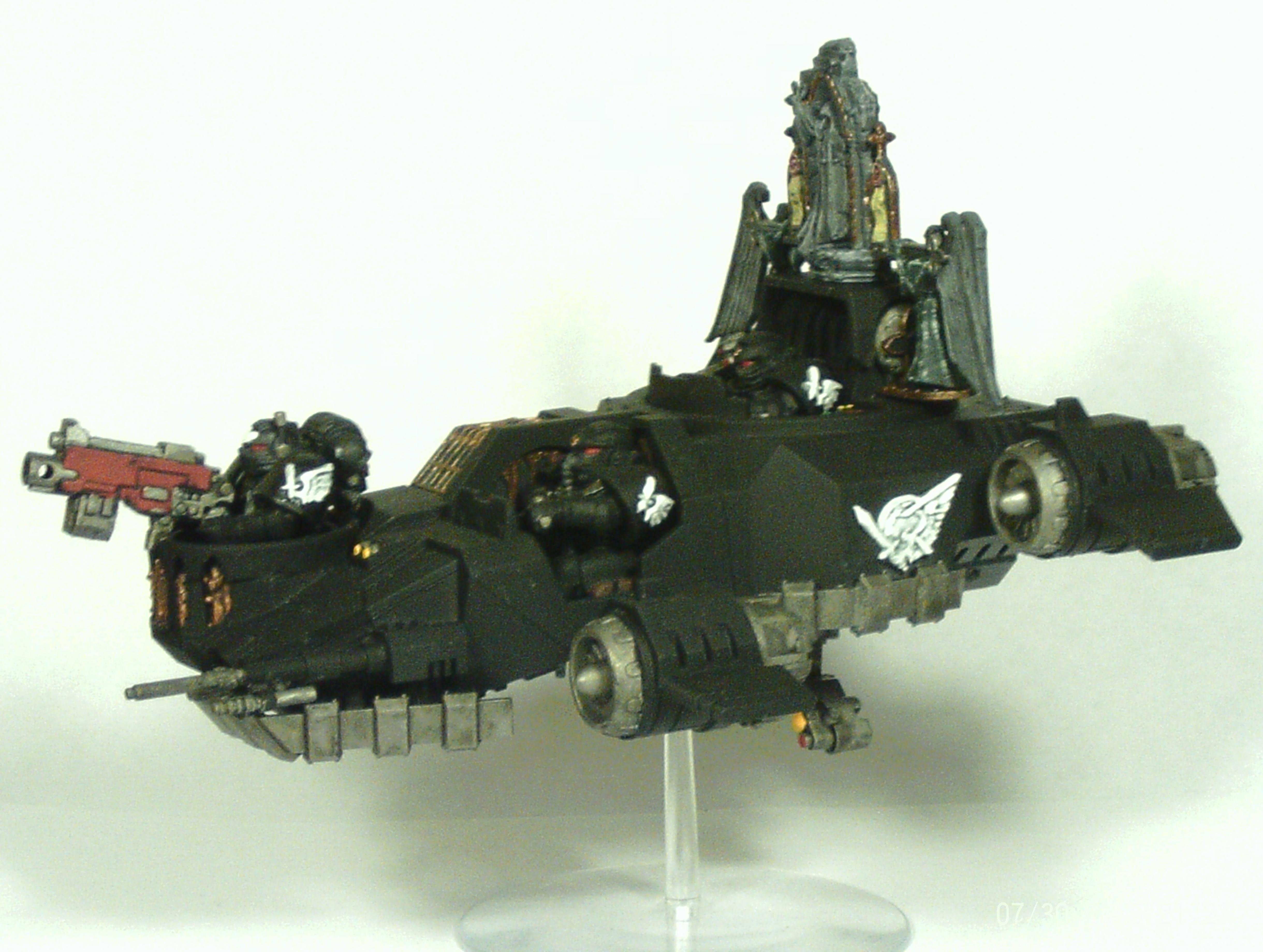Angel, Dark, Darkshroud, Land, Land Speeder, Ravenwing, Space, Space Marines, Speeder