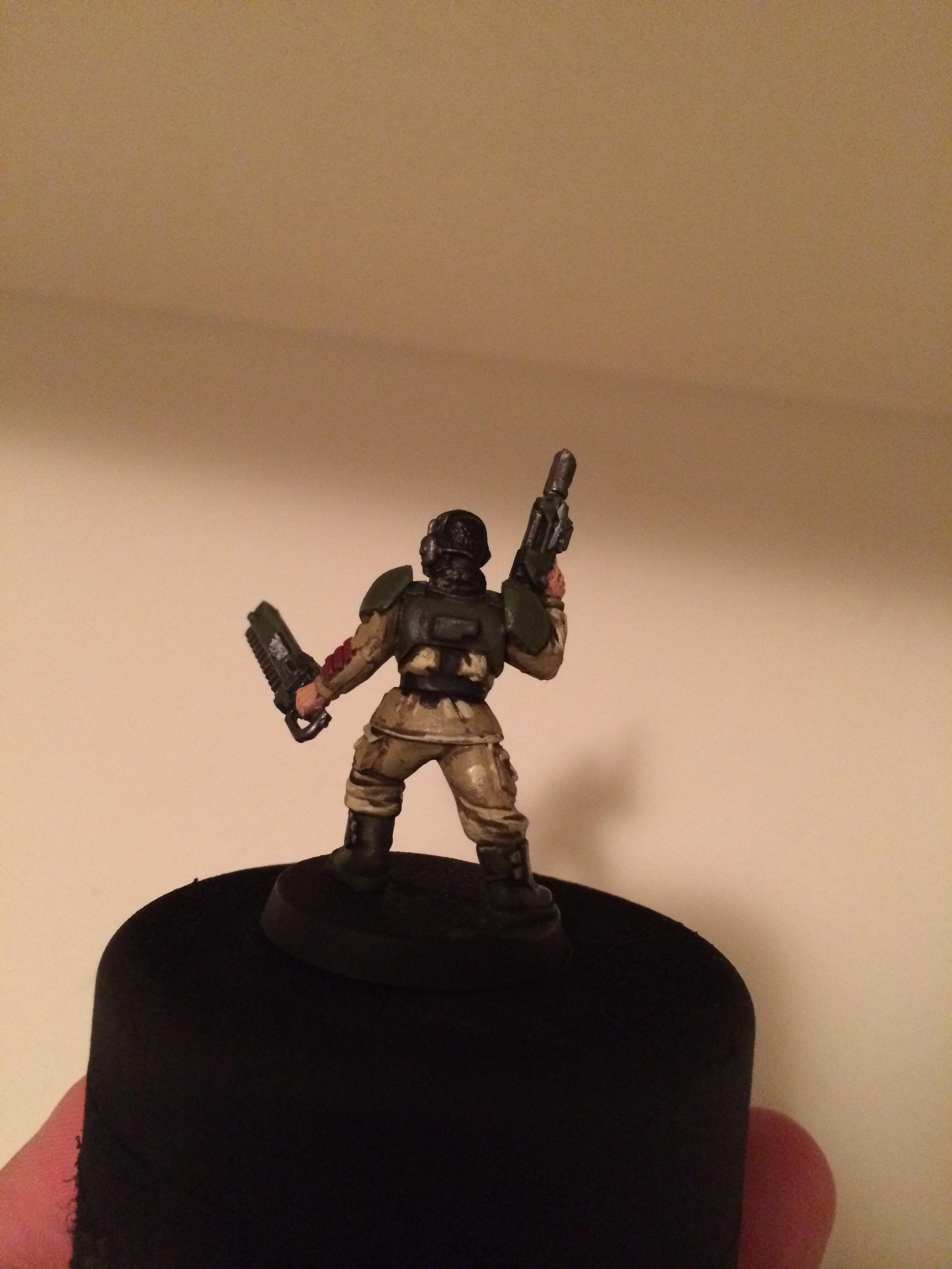 Imperial Guard, Tabletop Standard, Work In Progress