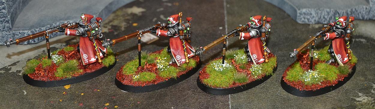 Arquebus, Rangers, Skitarii, Warhammer 40,000