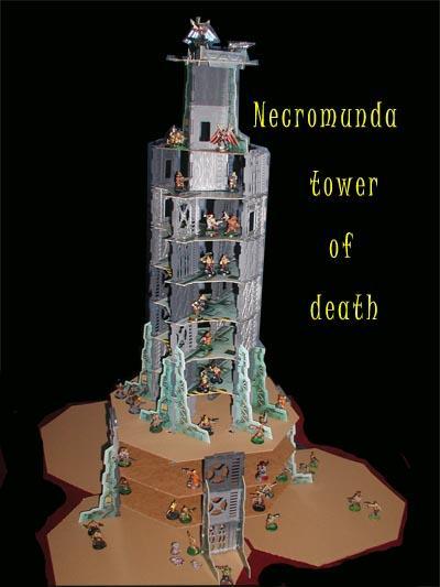 Buildings, Cardstock, Foolin' Around, Gang, Necromunda, Specialist Games, Terrain, Underhive