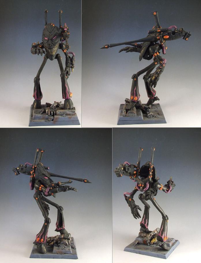 Conversion, Eldar, Harlequins, Wraithlord