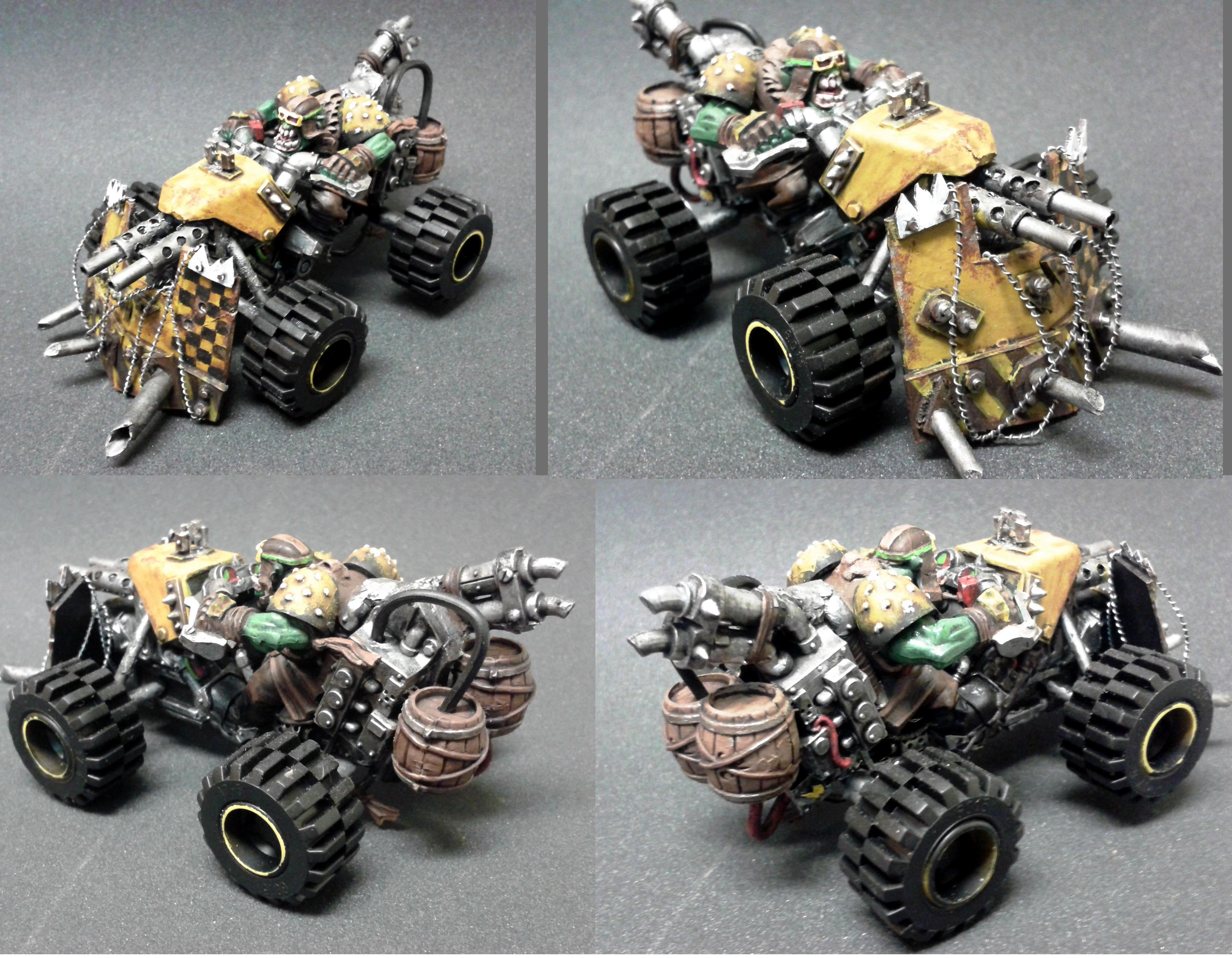 Armor, Assault On Black Reach, Atv, Bad Moons, Buggy, Build, Conversion, Deff Dread, Deffkopta, Grots, Mega, Meganobz, Nob, Orks, Quad, Scratch, Speed Freaks
