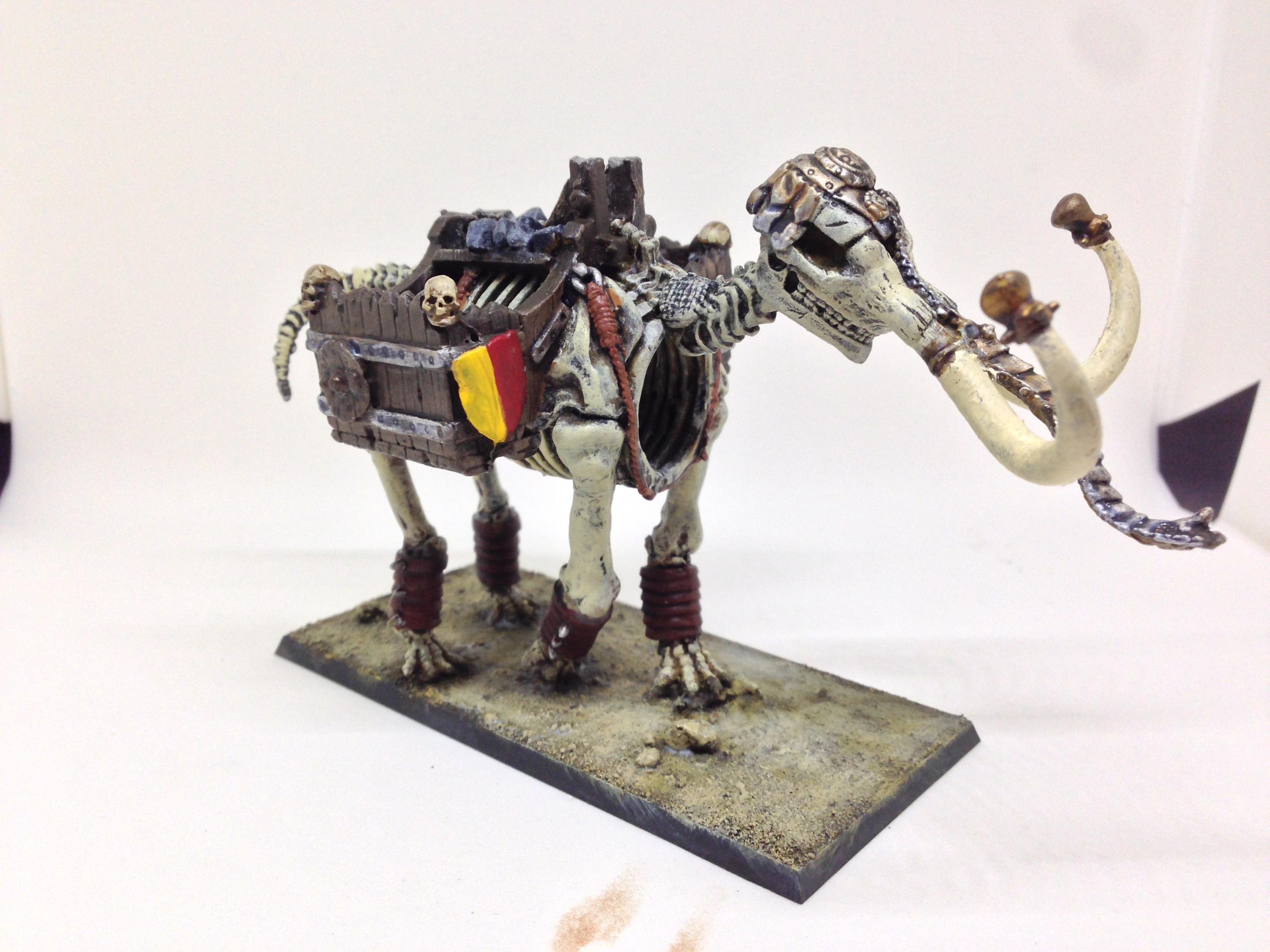 Elephant, Grenadier, Undead